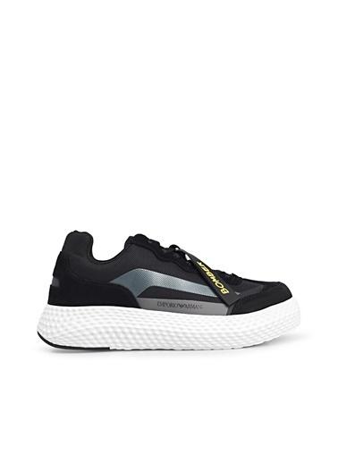 Emporio Armani  Ayakkabı Erkek Ayakkabı S X4X269 Xm506 N054 Siyah